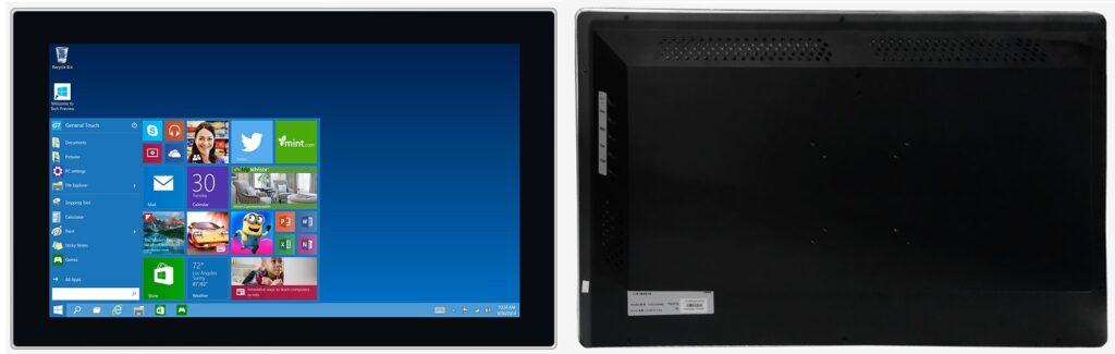 23.8型組込用/キャビネット式タッチパネルモニター「OTL238-RPCZ05」
